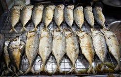Poisson de mer de friture Photos stock