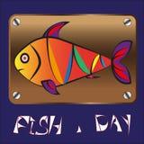 Poisson-jour Image libre de droits