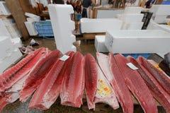 Poissonnerie de Tsukiji Photos stock