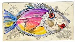 Poissons illustration stock