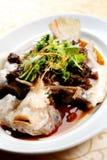Poissons chinois de courant Photo libre de droits