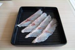 poissons crus Images libres de droits