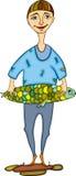 Poissons d'homme illustration de vecteur