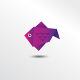 Poissons d'Origami Illustration de Vecteur