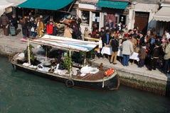 poissons de bateau frits Images libres de droits