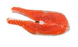 Poissons de bifteck saumoné Photos libres de droits