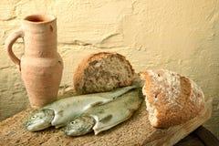 Poissons de la Galilée Photo libre de droits