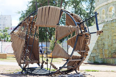 Poissons de métal et de corde au festival Photos libres de droits