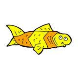 poissons drôles de bande dessinée comique Image libre de droits