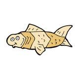 poissons drôles de bande dessinée comique Photo stock