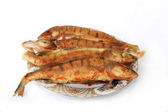 Poissons frits Images stock