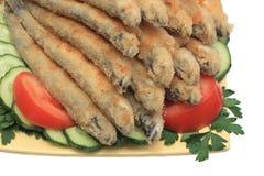 Poissons frits #2 Photographie stock libre de droits