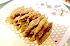 Poissons frits Photo stock