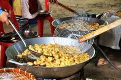 Poissons frits Photo libre de droits