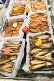 Poissons fumés Photo libre de droits