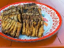 Poissons grillés Photo libre de droits