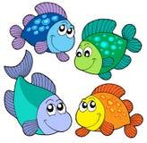 poissons mignons réglés Images stock
