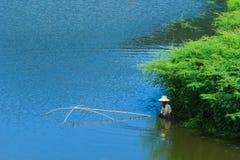 Poissons, pêche, pêcheurs Image stock