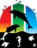 poissons rêveurs Photographie stock libre de droits
