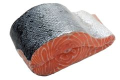 Poissons saumonés Photo libre de droits