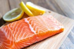 Poissons saumonés Image stock