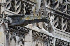Poissy, France - 6 août 2016 : le Chu collégial pittoresque Image libre de droits