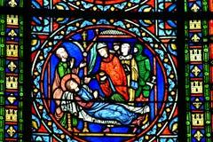 Poissy, Francia - 6 de agosto de 2016: el chu colegial pintoresco Imágenes de archivo libres de regalías