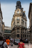 Poitiers, Γαλλία - 12 Σεπτεμβρίου 2016: Αλέα στην παλαιά πόλη Στοκ φωτογραφίες με δικαίωμα ελεύθερης χρήσης
