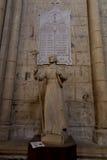 Poitiers, Γαλλία - 12 Σεπτεμβρίου 2016, ο αριθμός του Saint-Louis Στοκ Εικόνες