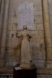 Poitiers, Γαλλία - 12 Σεπτεμβρίου 2016, ο αριθμός του Saint-Louis Στοκ εικόνα με δικαίωμα ελεύθερης χρήσης