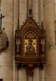 Poitiers, França - 12 de setembro de 2016: Interior da igreja de St Peter em Poitiers, França, Fotos de Stock Royalty Free