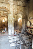 Poitiers, France - 12 septembre 2016 : Baptistère intérieur de Baptistere Saint-Jean de St John Poitie Photographie stock