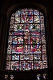 Poitiers, France - 12 septembre 2016 : Intérieur de l'église de Image stock