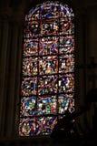 Poitiers, Francia - 12 settembre 2016: Interno della chiesa di Immagini Stock Libere da Diritti