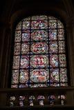 Poitiers, Francia - 12 settembre 2016: Interno della chiesa di Immagine Stock Libera da Diritti
