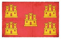 Poitou-Charentes法国难看的东西旗子  免版税库存照片