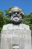 Poitrine de Karl Marx image stock
