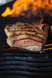 Poitrine grillée de porc Images stock