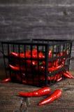 Poivre de Cayenne Photo libre de droits