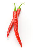 Poivre de piment d'un rouge ardent Photo stock