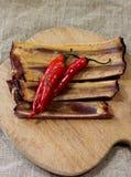 Poivre de /poivron d'un rouge ardent Photo stock