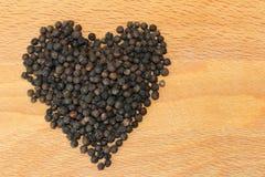 Poivre noir Photo stock