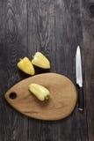 Poivron doux en bois Photo libre de droits