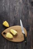 Poivron doux en bois Images stock