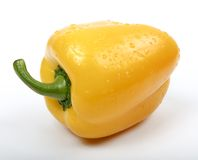 Poivron doux jaune Photos libres de droits