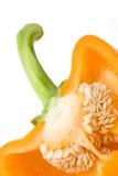 Poivron doux orange. Images stock