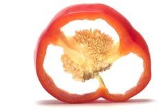 Poivron rouge frais Photos libres de droits