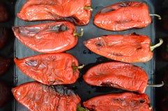Poivron rouge rôti photos libres de droits