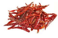Poivron rouge sec images stock