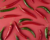 Poivrons de piment d'un rouge ardent, photo libre de droits